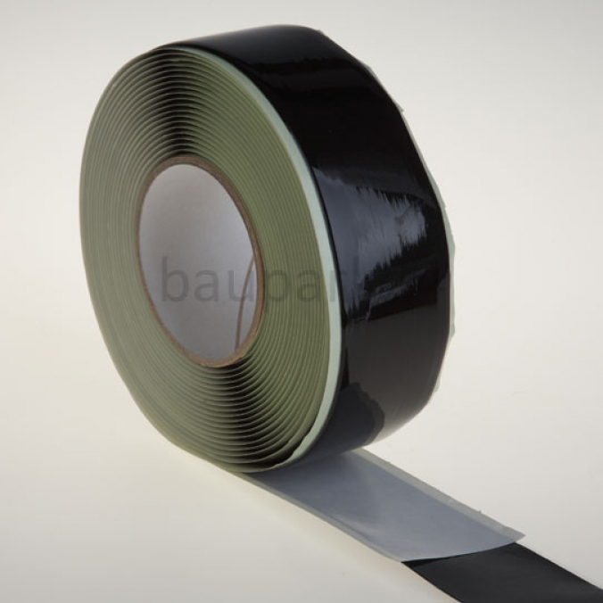 butyl klebeband 50mm x 1m streifen profi dichtband dampfsperre dachband top ebay. Black Bedroom Furniture Sets. Home Design Ideas